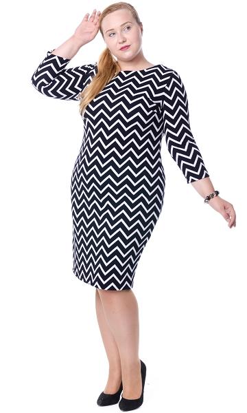 037c5dd738e3ff Jeżeli jesteś puszysta, wybieraj duże wzory na przykład Bestsellerami w  naszym sklepie są sukienki w kratkę i w zygzaki.